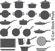 Cookware Stock Illustrations  1371 Cookware Clip Art Images And