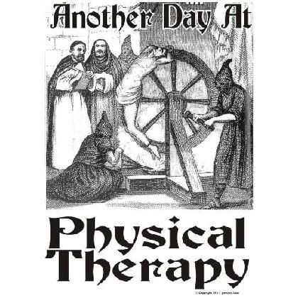 Funny Physical Therapy Cartoons Anyone That Has Been Through Physical