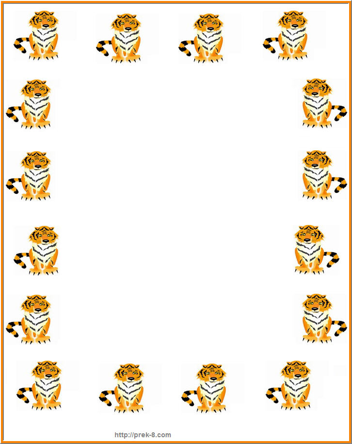 Animal Border Clipart - Clipart Kid