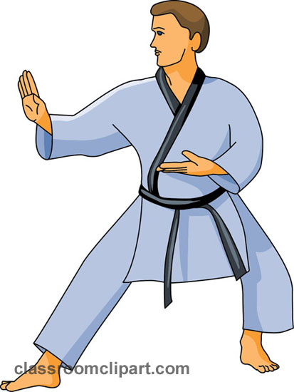 Karate Clipart - Clipart Kid