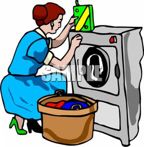 Man Doing Laundry Clipart - Clipart Suggest
