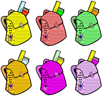Backpack Drive Clipart - Clipart Kid