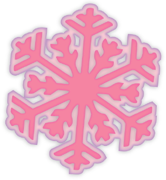 Pink Snowflake Clipart - Clipart Kid