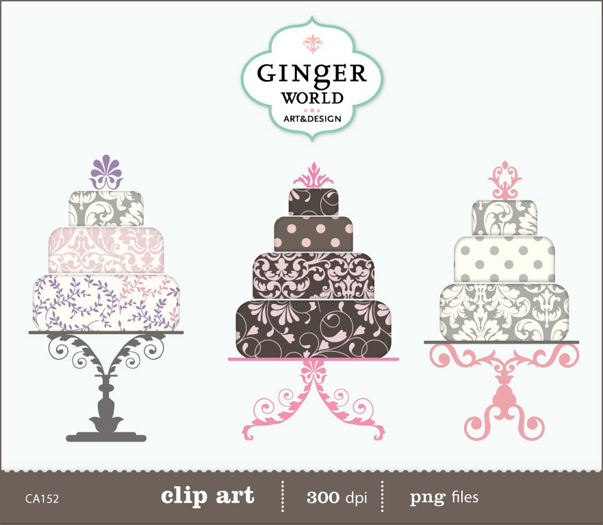 Whimsical Cake Clipart Clipart Suggest