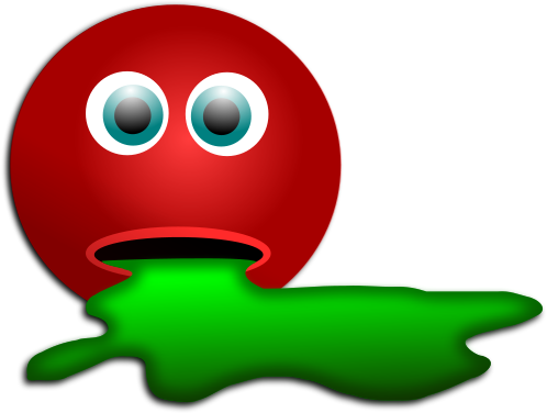 Smiley Too Much Candy Flat   Http   Www Wpclipart Com Holiday