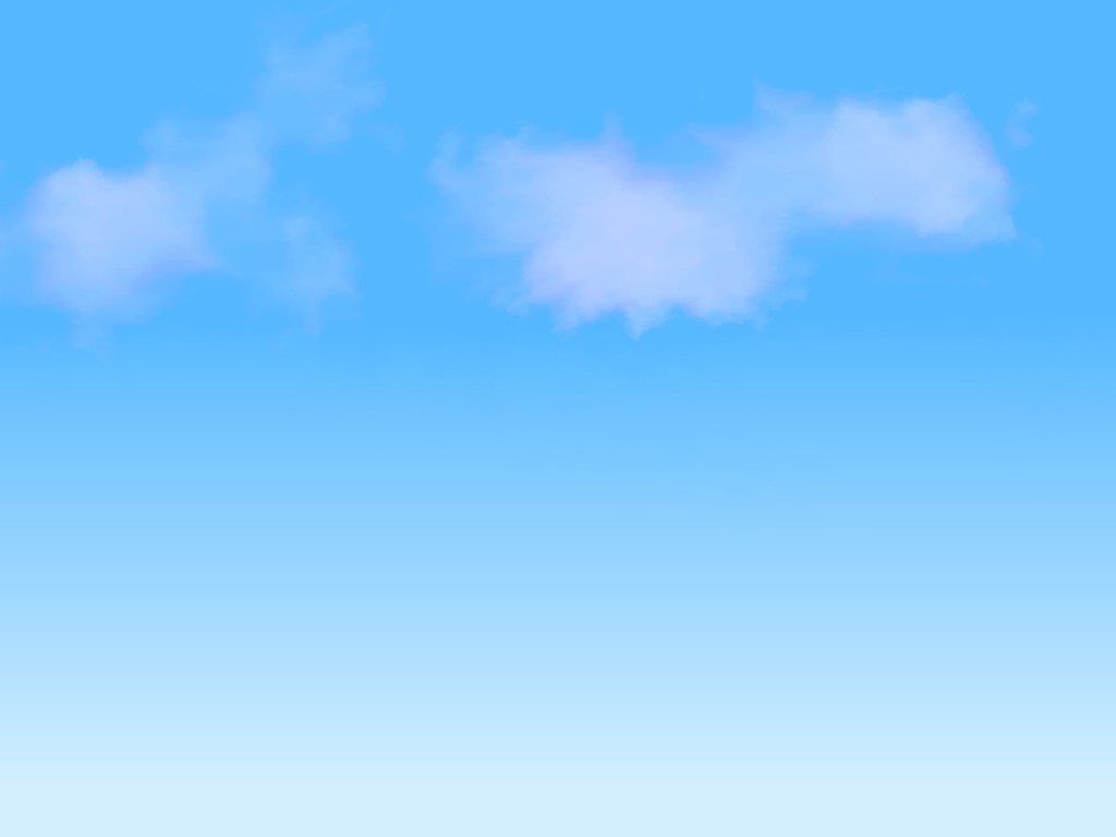 Blue Sky With Clouds Clipart - Clipart Kid