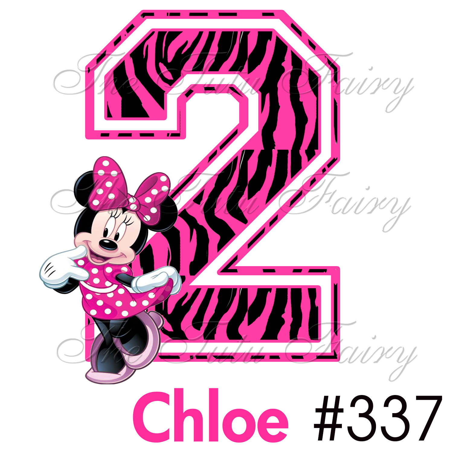 Unavailable Listing On Etsy: Minnie Mouse Number 1 Clipart