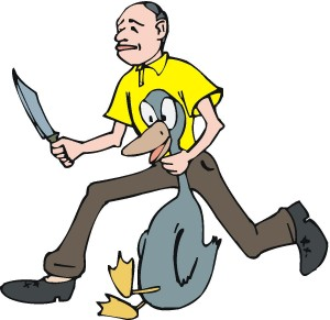 What Is With All The Duck Massacre Clipart  And Why Does This Duck
