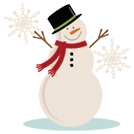 Winter Snowman Clipart - Clipart Kid