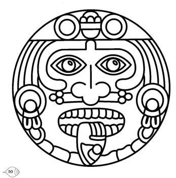 Aztec Calendar Clipart - Clipart Kid