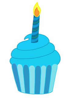 Birthday Cake Candles Clip Art