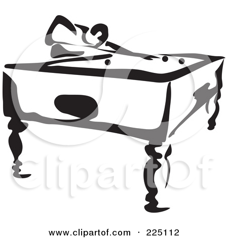 Black And White Pool Table 291816 Jpg