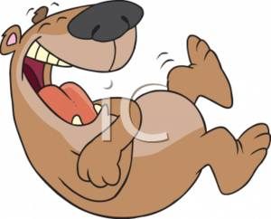 Brown Bear Laughing Hysterically Clipart Image Jpg   Degrassi Wiki