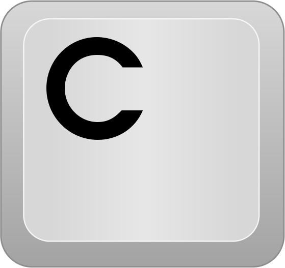 Computer Key C   Http   Www Wpclipart Com Computer Keyboard Keys