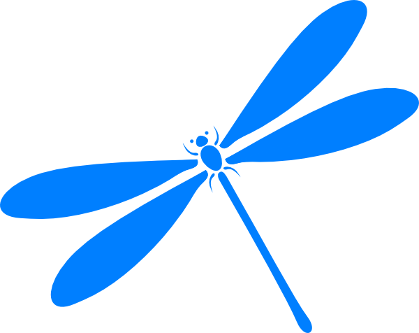 Dragonfly In Flight Clip Art At Clker Com   Vector Clip Art Online