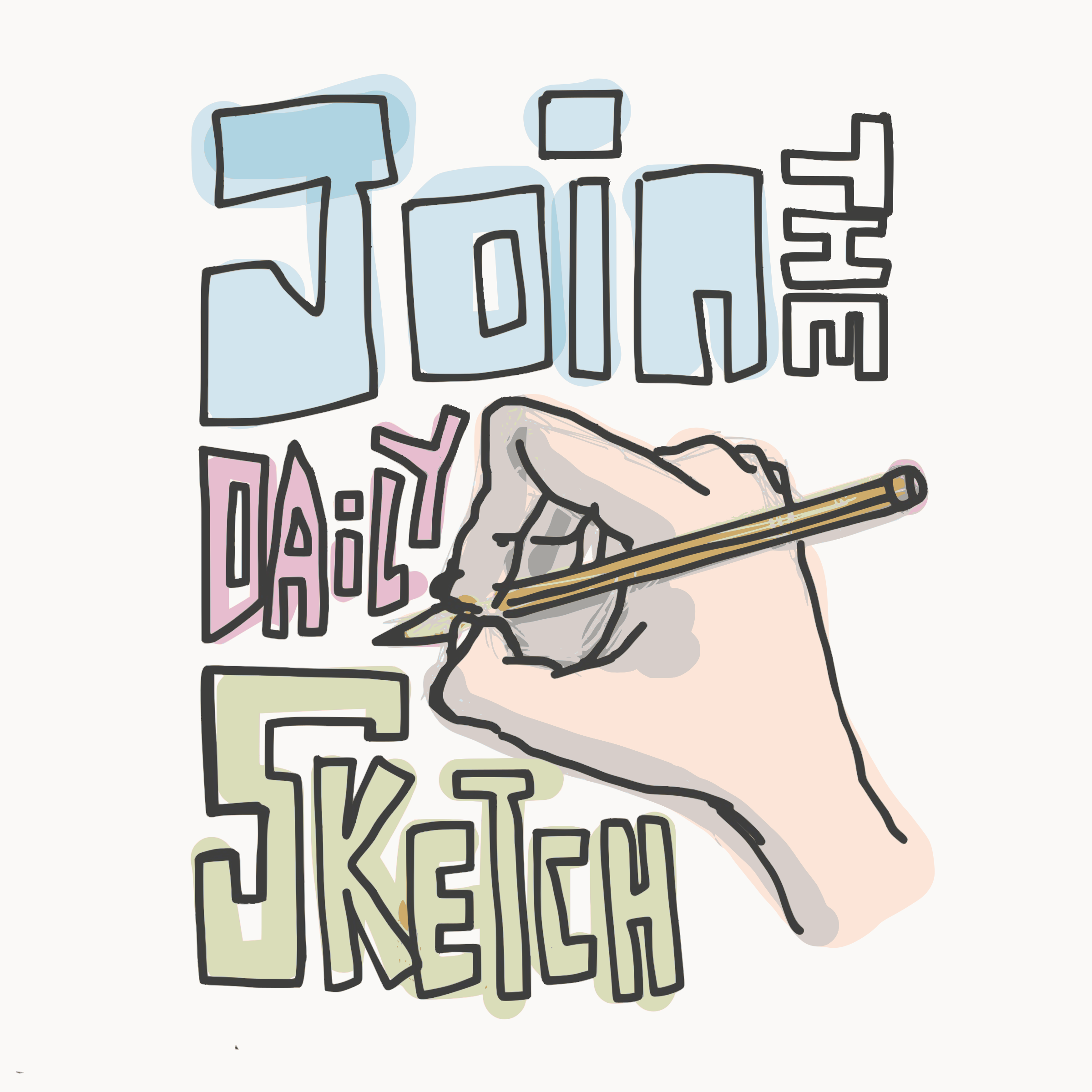 Join The Dailysketch By Openclipart
