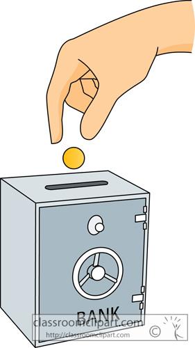 Bank Deposit Clip Art