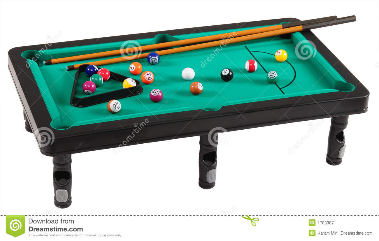 Pool Table Clip Art Green Billiard Table With