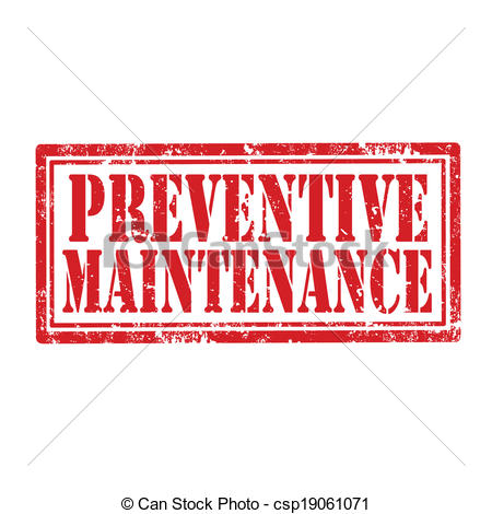Preventive Maintenance Stamp   Csp19061071