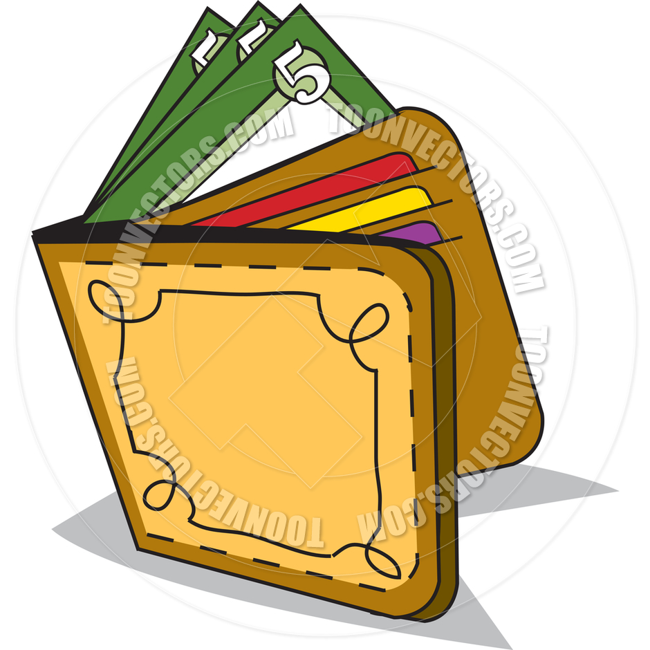 Royalty Free Wallet Clipart