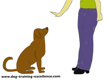Stay Dog Clipart - Clipart Kid