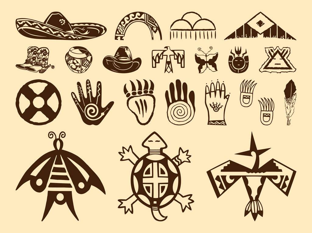 American Indians Symbols Native American Symbols A Native American