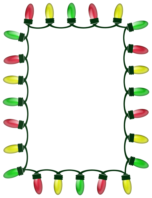 Christmas Borders And Frames Clipart - Clipart Kid