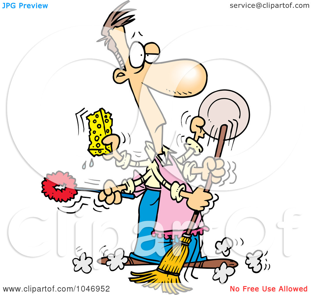 free clipart kitchen cleaning - photo #20
