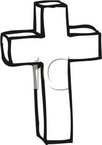 Cross Clipart Black And White Black And White Cross 091222 172467