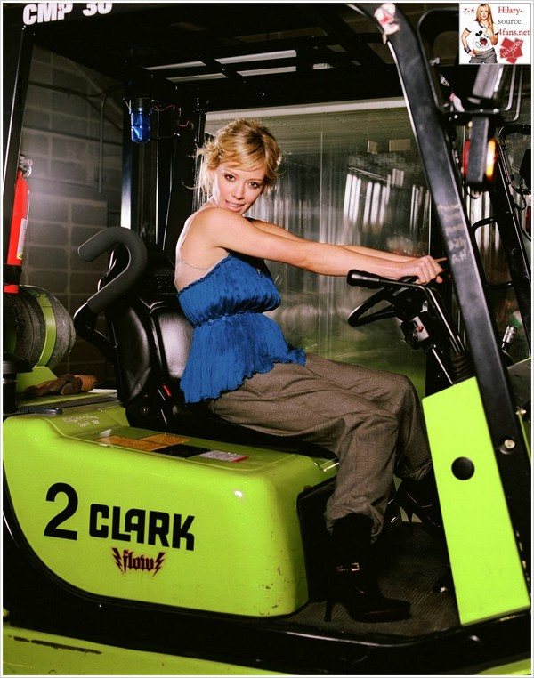 Foot Guard Forklift Photo   Piggy Back Forklift   Parts Listing Clark