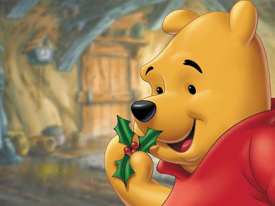 Pooh Christmas Clipart - Clipart Kid