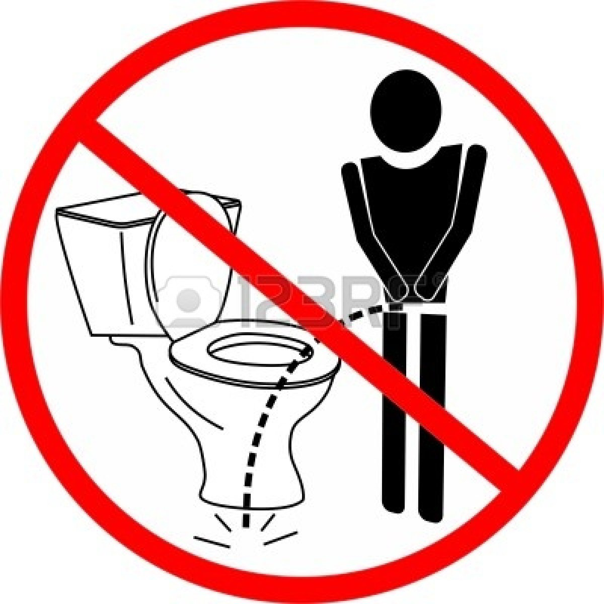 Pee   Forbidden To Urinate   Clipart Panda   Free Clipart Images