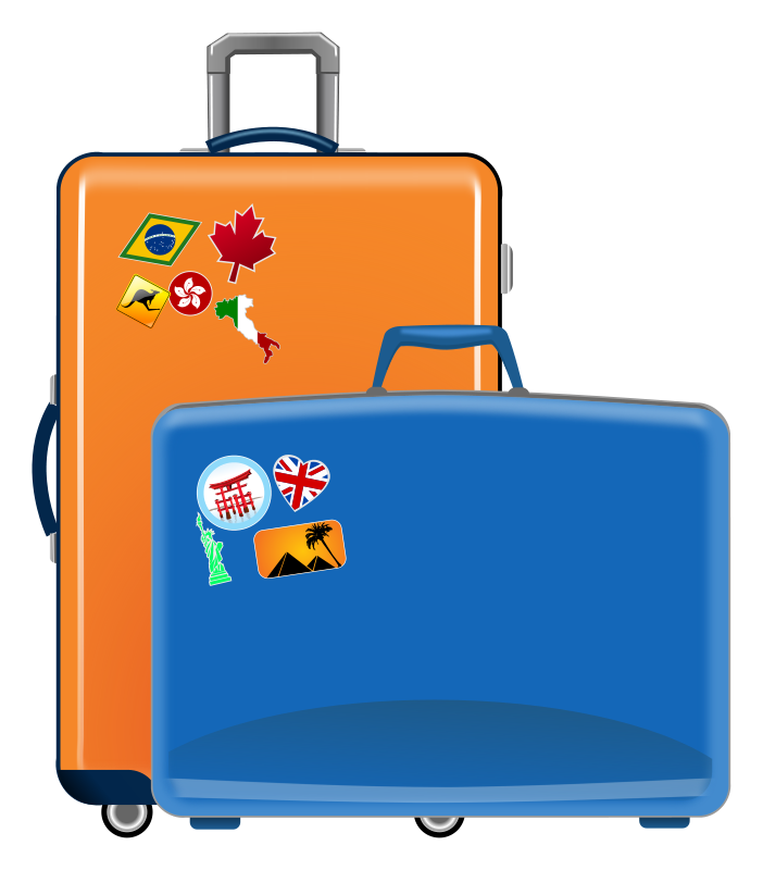 Clip Art Suitcase Clip Art suitcase clipart kid clip art images free for commercial use