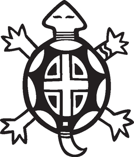 Turtle    Southwest Graphics    Native American Indian Decals