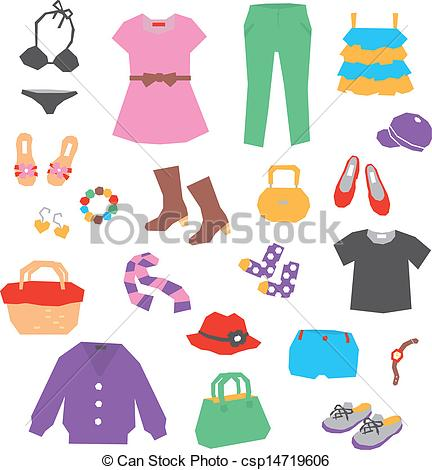 Women's Clothing Clipart - Clipart Suggest