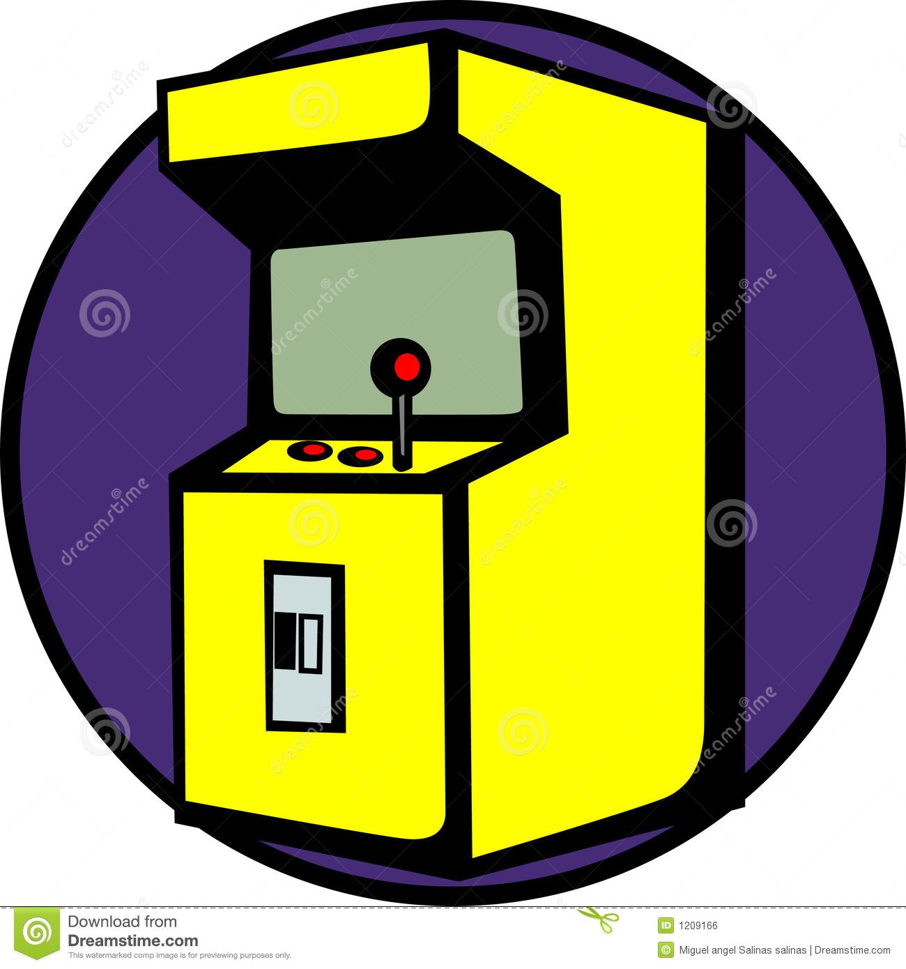 free game machine vector