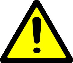 Caution Symbol Clipart - Clipart Kid