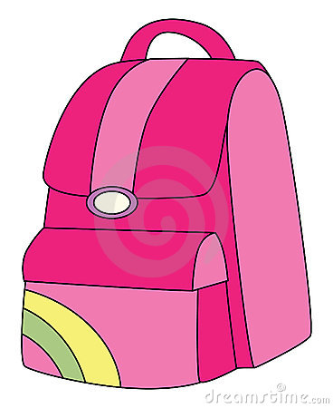 Backpack Pink Stock Photos   Image  16467613