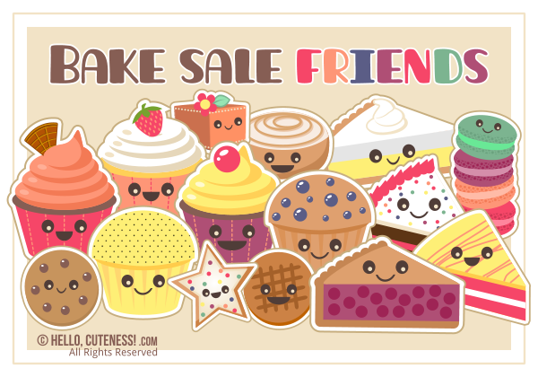 Bake Sale Sign Clipart - Clipart Kid