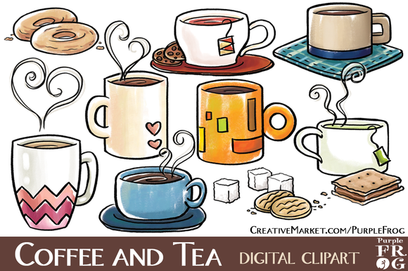 Tea And Cookies Clipart - Clipart Kid