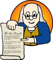 The Rights in Constitution Clip Art