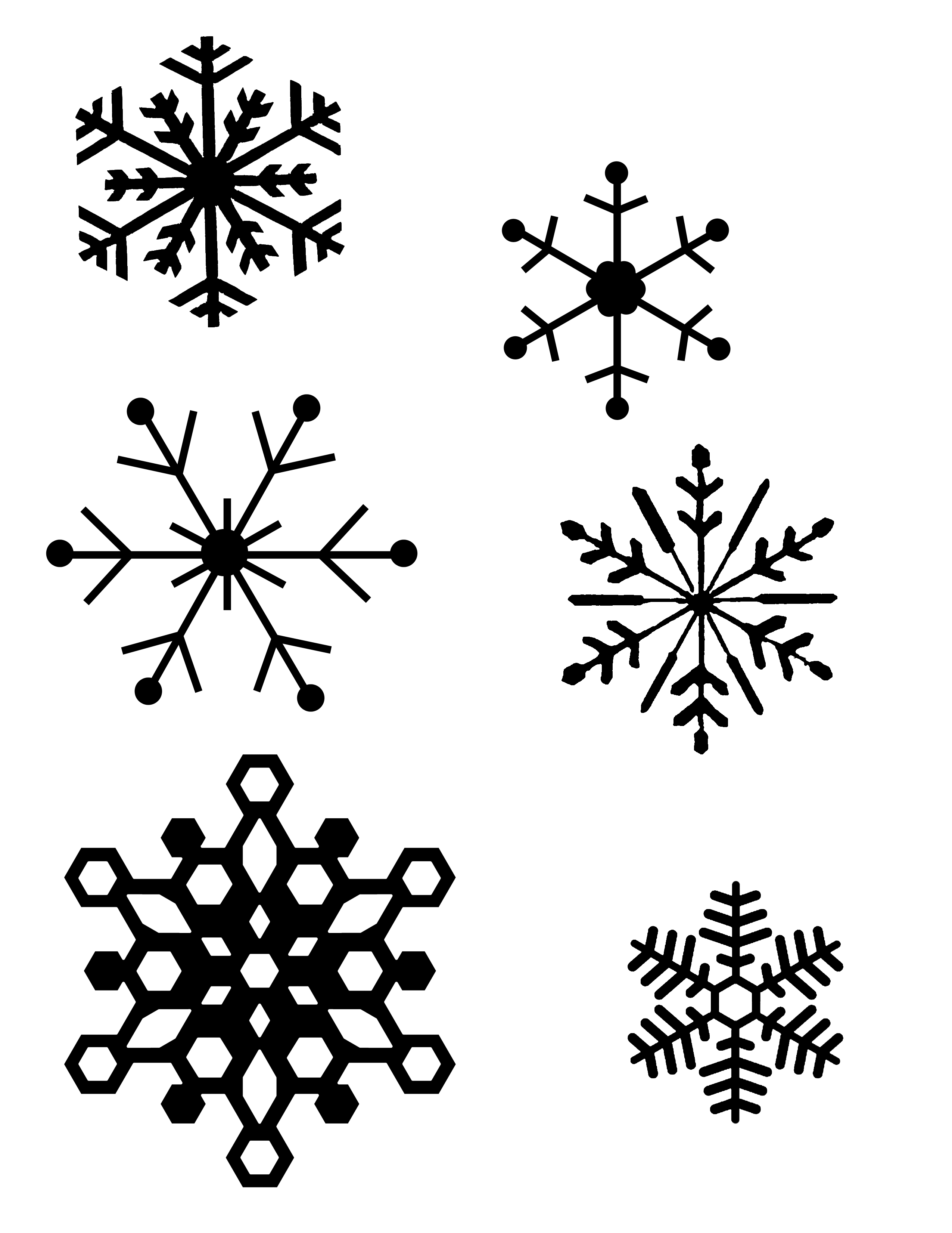 Diy Snowflake Window Clings  Plus Tips And The Best Method    The