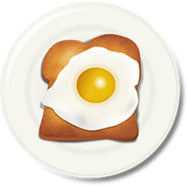 Egg Toast Breakfast 2   Free Images At Clker Com   Vector Clip Art