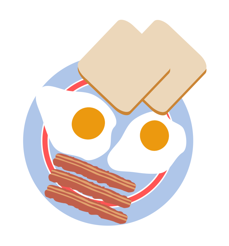 Eggs With Toast And Bacon By Agomjo   Bull S Eye Eggs With Toast And