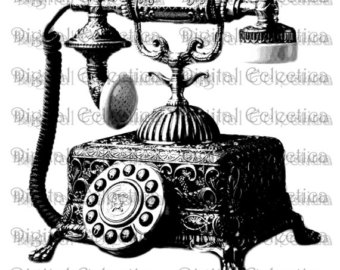 Old Wall Telephone Clipart Images   Pictures   Becuo
