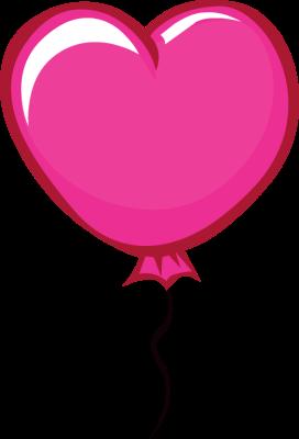 Heart Balloons Clipart - Clipart Kid