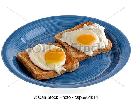 Stock Photo   Poached Eggs On Toast   Stock Image Images Royalty