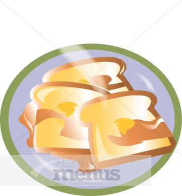 Word Png Tweet French Toast Clipart 3 Pieces Of Crusty French Toast