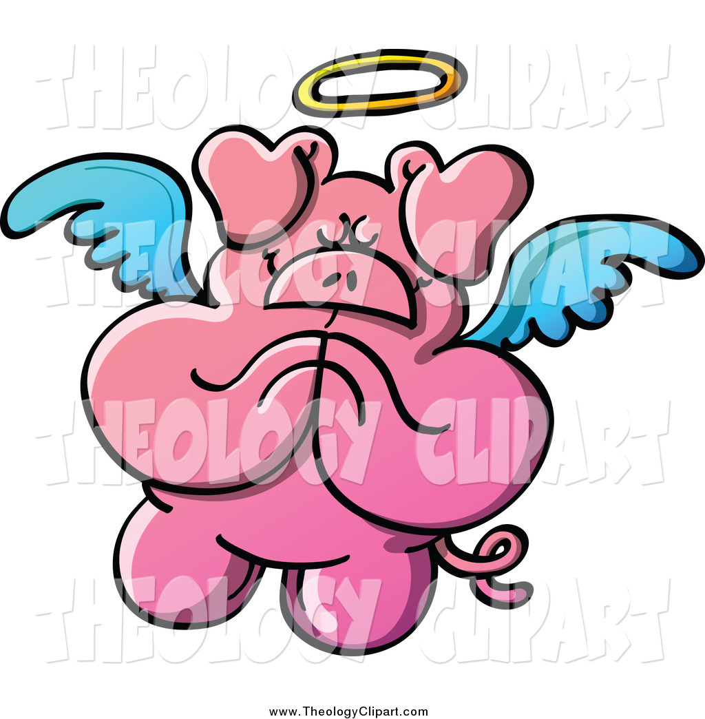 Angel Praying Hands Clipart
