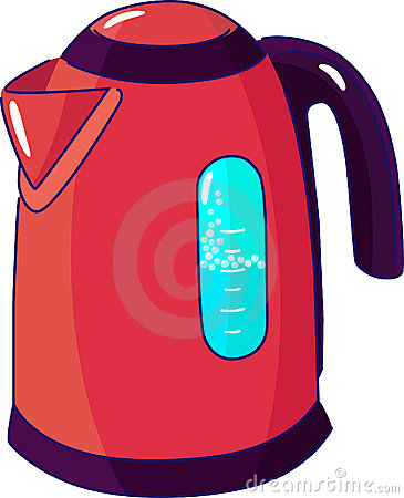 Boiling Modern Electric Kettle Stock Images   Image  31522794